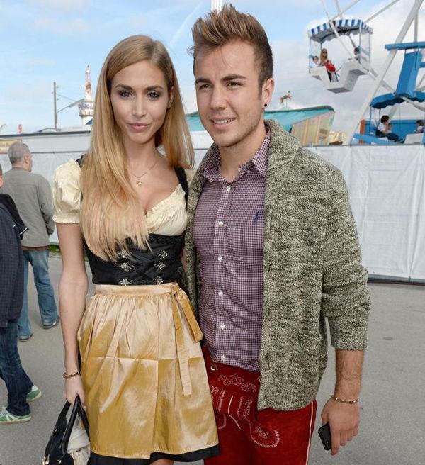 Марио гётце с девушкой фото